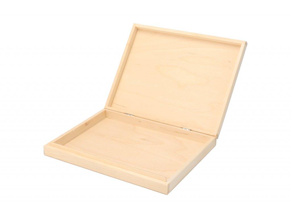 Drevená krabička na A4