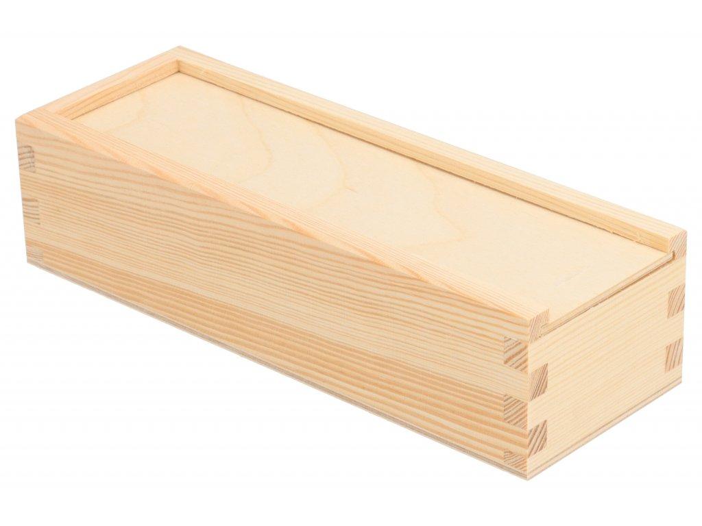 Drevená krabička V