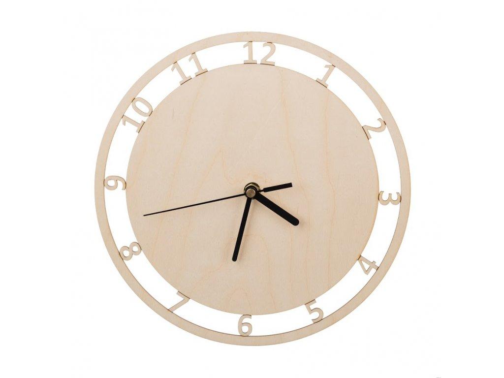 Nástenné hodiny prírodné III