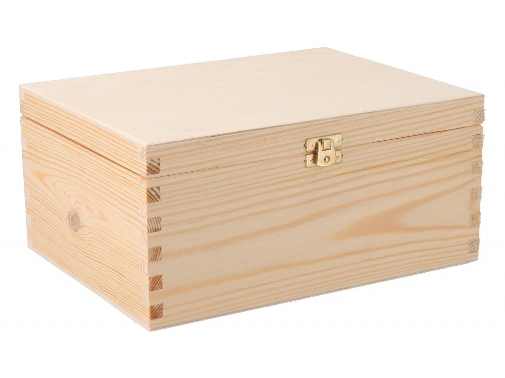 Drevená krabička so zakladačom II