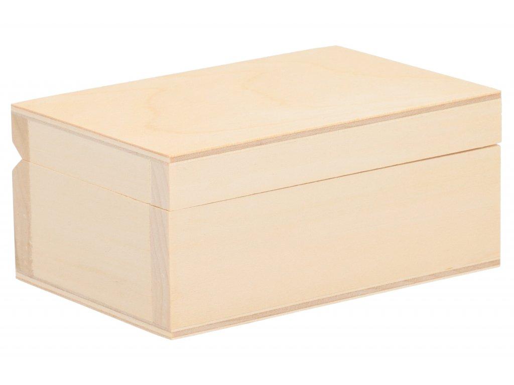 Drevená krabička VI