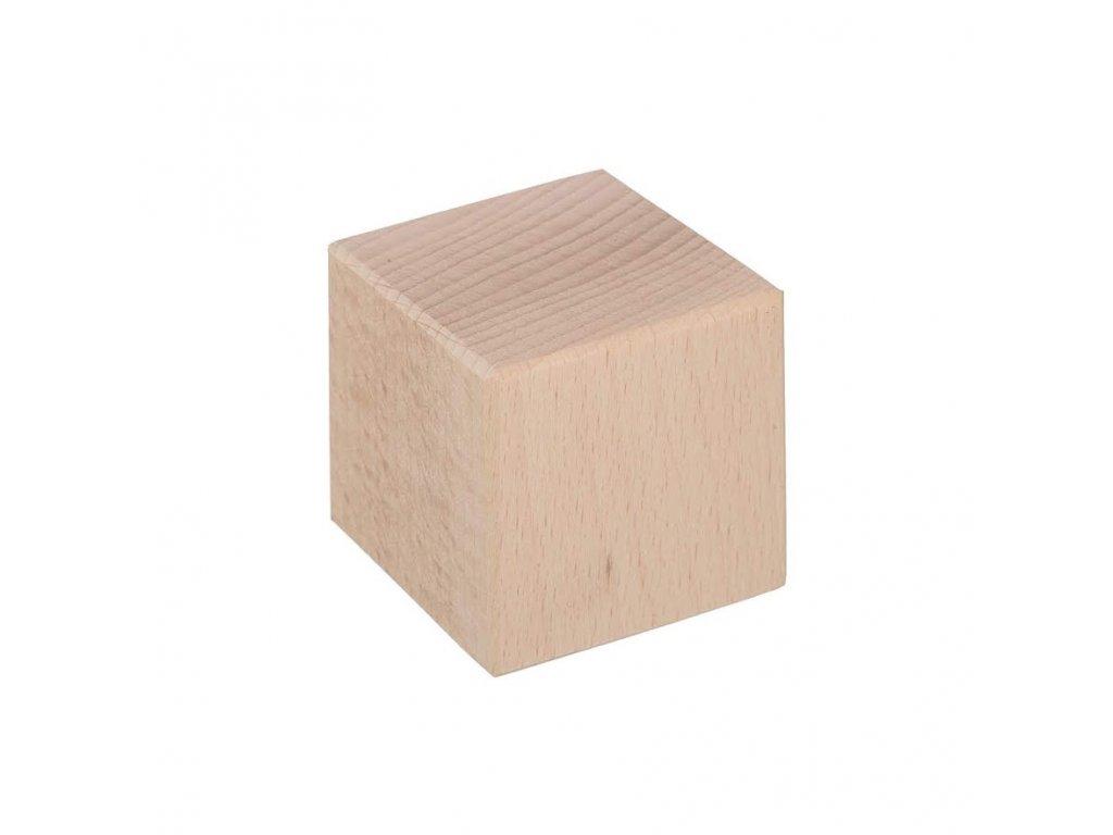 Drevená kocka 5,5 x 5,5 cm