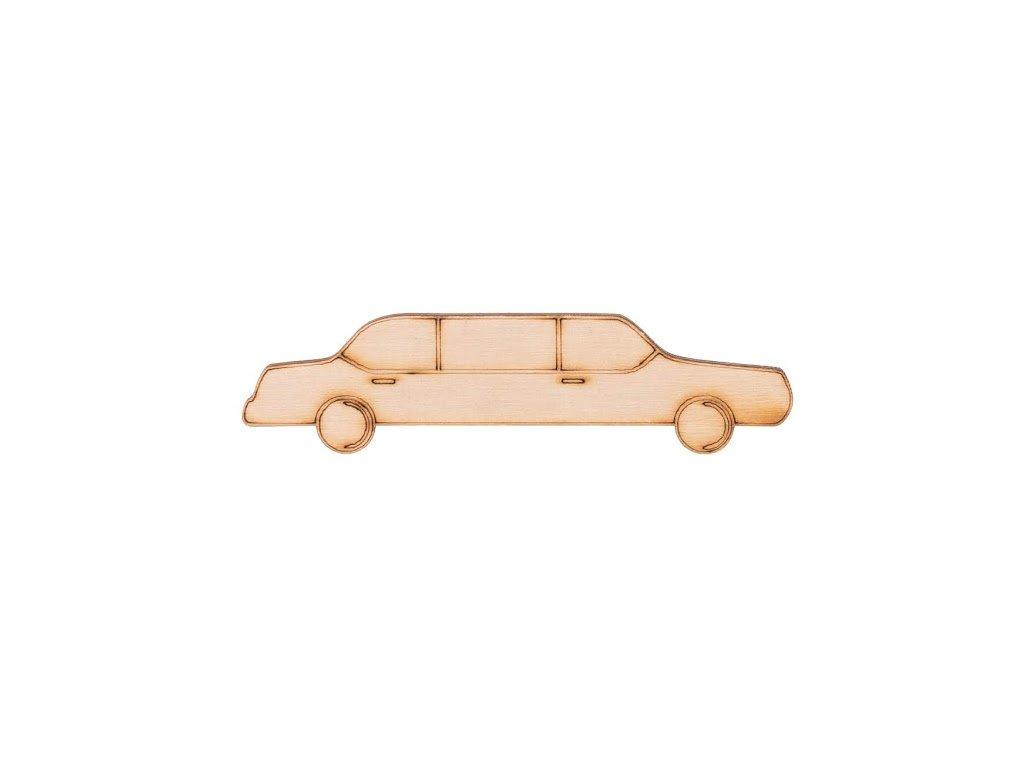 Drevená limuzína 2,5 x 10 cm