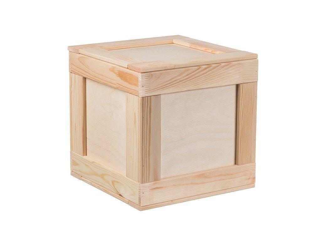 Drevený box 30 x 30 cm