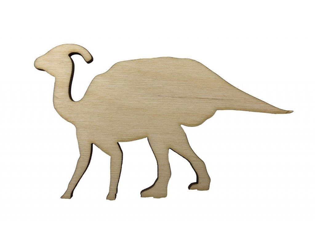 Drevený dinosaurus XIII 10 x 6 cm