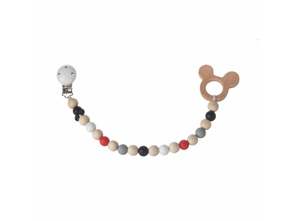 Drevené hryzadlo - Mickey Mouse