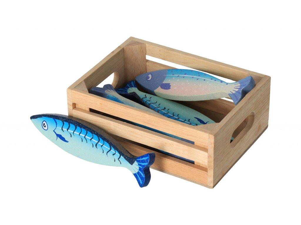 Prepravka s rybičkami