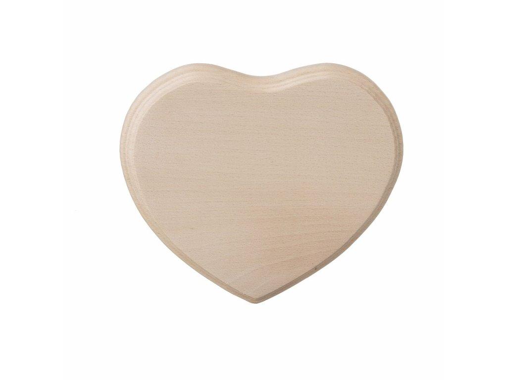 Štýlová krájacia doska - srdce