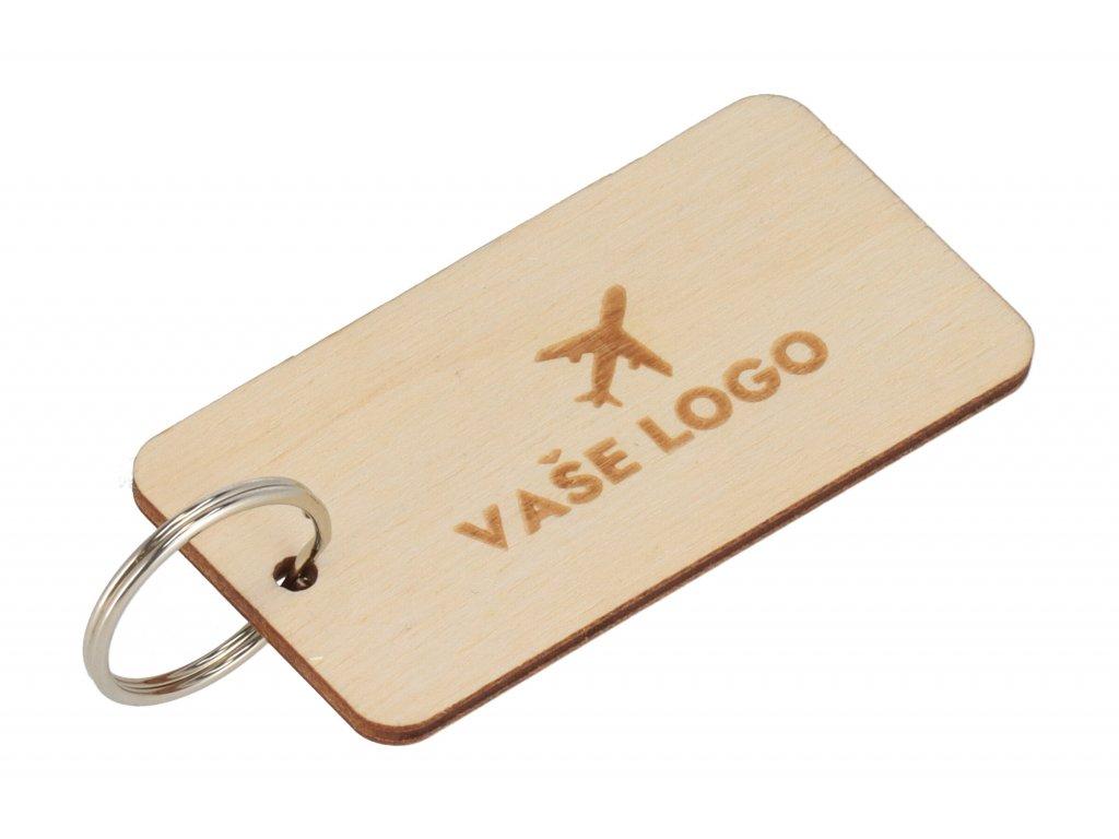 Prívesok na kľúče s vlastným logom