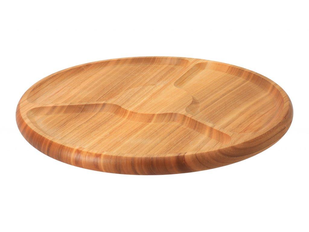 Servírovací delený tanier