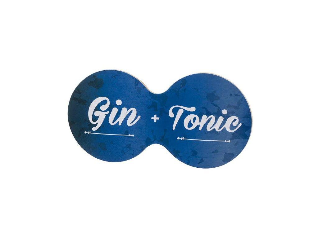 Korkový dvojtácok - gin + tonic