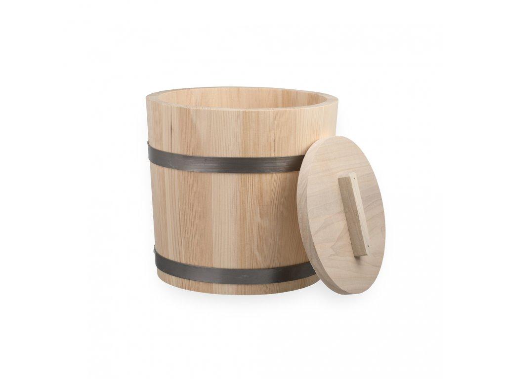 Nádoba na kvasenie kapusty/uhoriek drevená