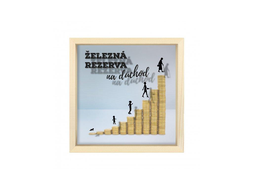 Pokladnička - Rezerva na důchod