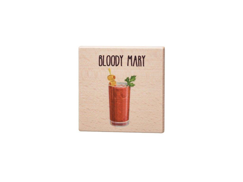 Drevený podtácok - Bloody Mary