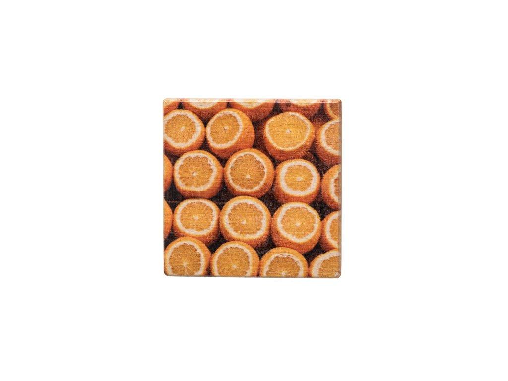 Drevený podtácok - Pomaranče