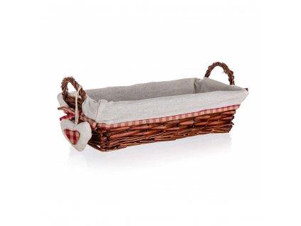 Prútený košík CLASSIC s uškami - 35 x 17 cm