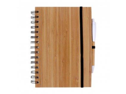 Bambusový blok A5 s prupiskou