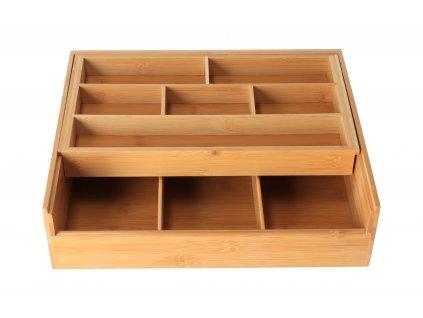Úložný box z bambusového dreva