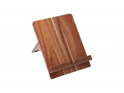 Akátový stojan na tablet/knihu