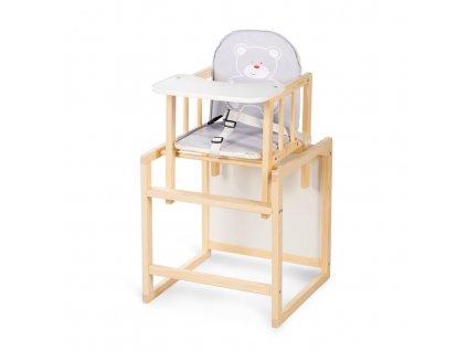 Jedálenská stolička borovica