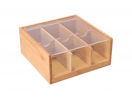Bambusový box na čaje