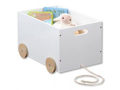 Box na hračky - autíčko