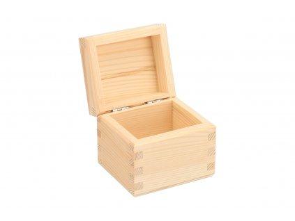 Dřevěná krabička na čaj (1 priehradka)