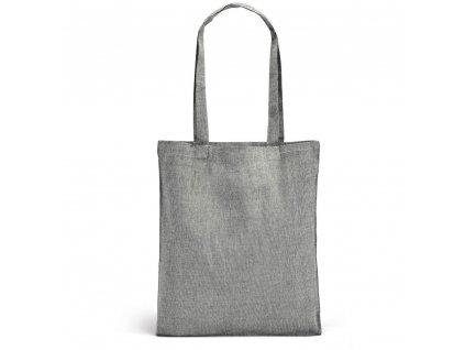 Nákupní EKO taška z recyklované bavlny - černá