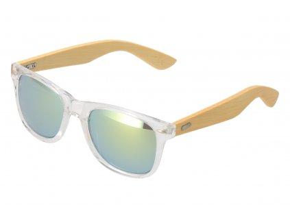 Dřevěné sluneční brýle V
