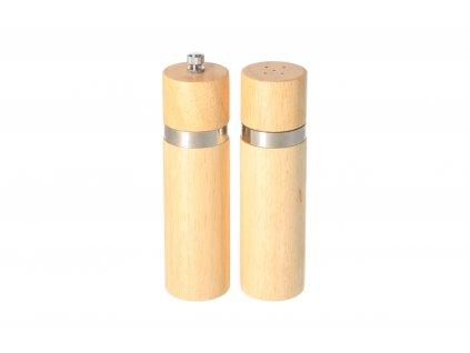 Sada Mechanických mlynčekov na korenie BRILLANTE - 6 x 15,2 cm