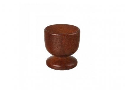 Drevený stojan na vajíčko 5 cm - tmavý