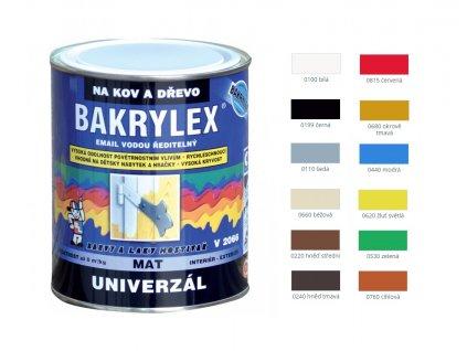 Bakrylex Univerzál matný 700 g - viac farieb