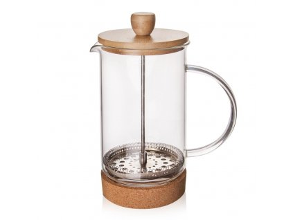 French Press kafetier CORK 0,4 L
