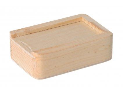 Drevená krabička na USB disk