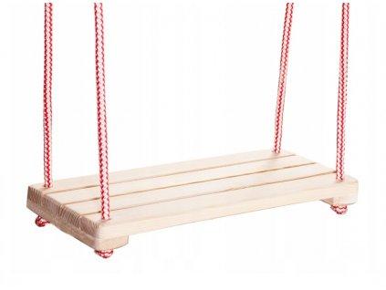 Dřevěná houpačka 42 x 18 cm