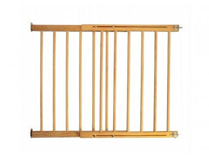 Dřevěná bezpečnostní zábrana 72-122 x 84 cm