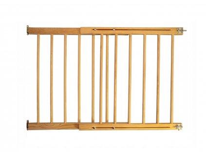 Drevená bezpečnostná zábrana 72-122 x 76 cm
