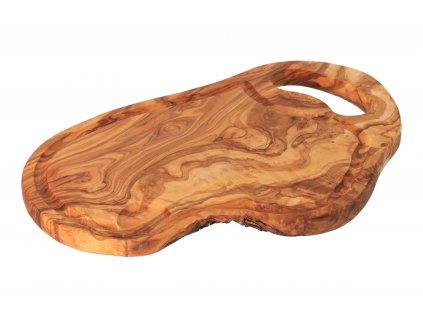 Sada 6 podtácok z olivového dreva so zásobníkom