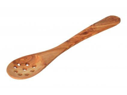 Soudek na med z olivového dřeva