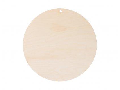 Okrúhly výrez z preglejky k dozdobeniu 35 cm