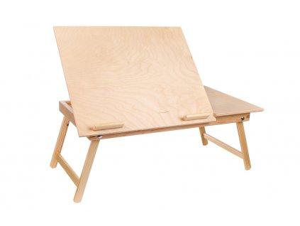 Drevený stolček pod notebook 60 x 35 cm