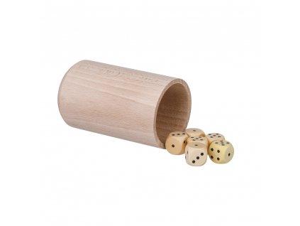 Hracie kocky 6 ks s kelímkom