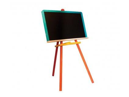 Detská farebná tabuľa drevená