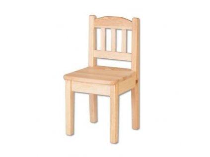Drevená detská stolička