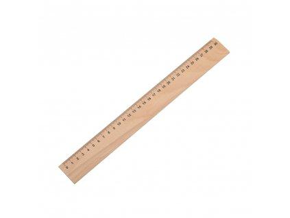 Drevené pravítko 30cm