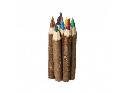 Drevené farbičky 12 farieb