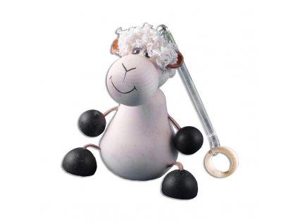 Drevená hojdacia hračka - ovečka