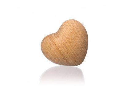 Srdiečko drevené 3D