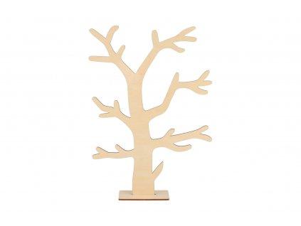 Drevený stromček na šperky