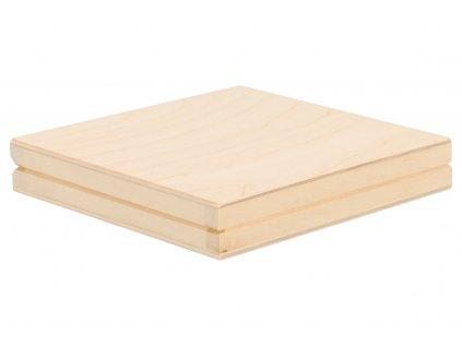 Drevená krabička na CD